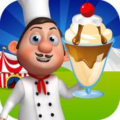Crazy Carnival Court: Circus Ice-Cream Treats Factory PRO