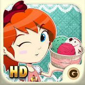 Ice Cream Friends HD for iPad - Fun Ice Cream Maker RPG Style Game for Kids and Girls - Cool Ice Cream Gelato & Sandwich Game