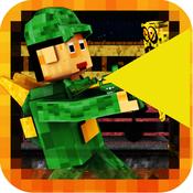 Pixel Block Zombie Survival - Voxel City War