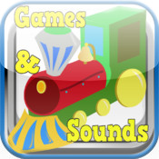 Train Toddler Game Free- Train Sounds & Train Games