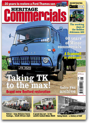 Heritage Commercials Magazine – Britain's brightest magazine for the classic and vintage commercial vehicle enthusiast.