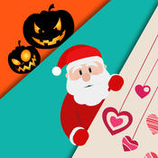 All Festival Wallpapers & Season Backgrounds - Images and Ringtones of Halloween,Christmas & More unlimited tagging