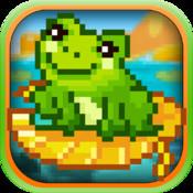 A Hoppy Froggy World PRO- Rolling Log Frog Launcher Jump FREE