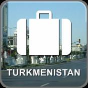 Offline Map Turkmenistan (Golden Forge)
