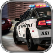 3D Police chase super car pursuit on the traffic highway Free Racing Game