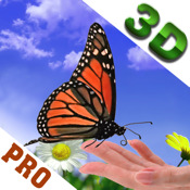 Finger Butterfly 3D HD PRO-Interactive butterfly garden