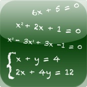 Algebrator: Solving linear equations by elimination