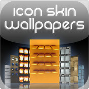 Icon Skin Wallpapers - Home Screen Backgrounds Lite
