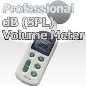 Professional dB (SPL) Meter