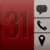 TouchBase Calendar: 1-Touch SMS, Calling & Maps for your Calendar sms mail calendar