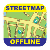 Boston Offline Street Map