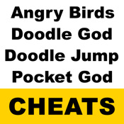 "Cheat Pack-""for Angry Birds & Doodle God & Doodle Jump & Pocket God """