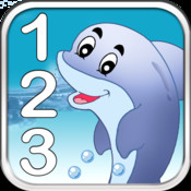 Swim With Numbers- Fun Learning Numbers for toddlers and preschool kids point numbers
