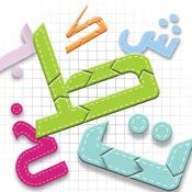 Puzzle des lettres arabes