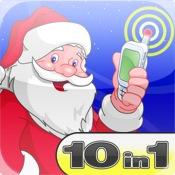 Santa Mega Pack - 10 in 1 (Santa - Papa Noel - Pere Noel - Weihnachtsmann Included)