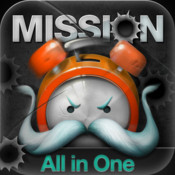 Mission Alarm Clock : All In One - Guarantee you wake up
