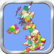 United Kingdom Puzzle Map