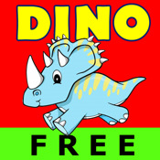 A Dinosaur Spin & Match Free Lite - Kids Picture Memory Cards Games