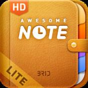 Awesome Note HD Lite (+To-do/Calendar/Evernote)