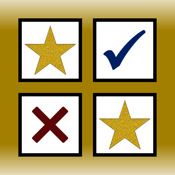 Gold Stars & Check Marks: Tap to Track Daily Goals and Habits marks book mark net
