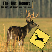The Rut Report, Whitetail Deer Rut Report Map blank book report form