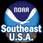 Southeastern USA Tides by NOAA