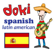 Learn Basic Latin American Spanish with Doki