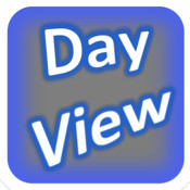 Day View Calendar - Calendar that syncs with standard calendar. Includes powerful date finder wheels! calendar