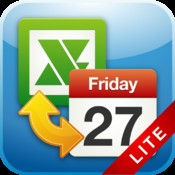ExcelCalendar Lite - Export/Import Calendar to/from an Excel file export