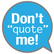 Don`t Quote Me - Free Friends` Ad Lib and Funny Sayings