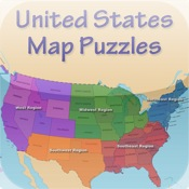 US States and Capitals Puzzle Match