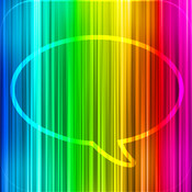 Message Makeover - Colorful Text Message Bubbles message