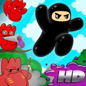 Ninjatown: Trees Of Doom! HD!