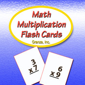 Math Multiplication Flash Cards For 2nd Grade