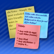 abc Notes - ToDo & Sticky Note Application todo finance note