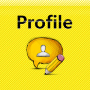 Profile Image Editor profile background