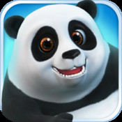 Talking Panda with Chinese Kung Fu
