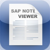 SAP Note Viewer for iPhone