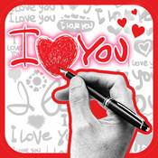A Valentine Card Builder for iPad