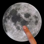 Touch the Moon! إلمس القمر - High quality live moon images daily صور حية و عالية الجودة لشكل القمر يوميا