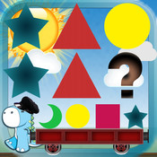 Caboose - Learn to Recognize and Complete Patterns - Shapes, Colors, Letters and Numbers