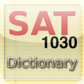 SAT vocab dictionary flash cards 1030