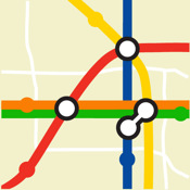 Chicago Transport Map - Free Tube Map on iPhone and iPad