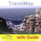 Bornholm (Denmark) HD - Travel Map Navigator