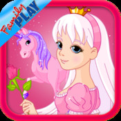 Princess Matching and Learning Game for Kids : Numbers, Alphabet, Princess, and Fairies princess