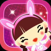Chibi - Cute manga style girly stickers to Photobooth yr gorgeous quirky picz