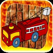 Doodle Fire Truck Escape - City on Fire Full version
