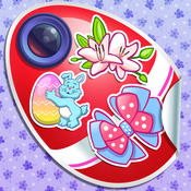 Easter Photo Stickers Editor with Pretty Sticker Camera Decorations and Cute Stamps
