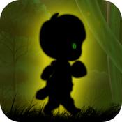Alien Walk on Green Wonderland : The Dark Forest World