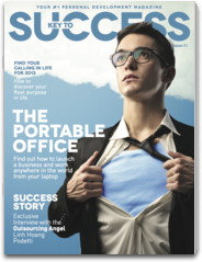Key to Success a personal development magazine for young entrepreneurs